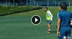 Subito Gabigol, eurogol in allenamento ed i tifosi sognano [VIDEO]
