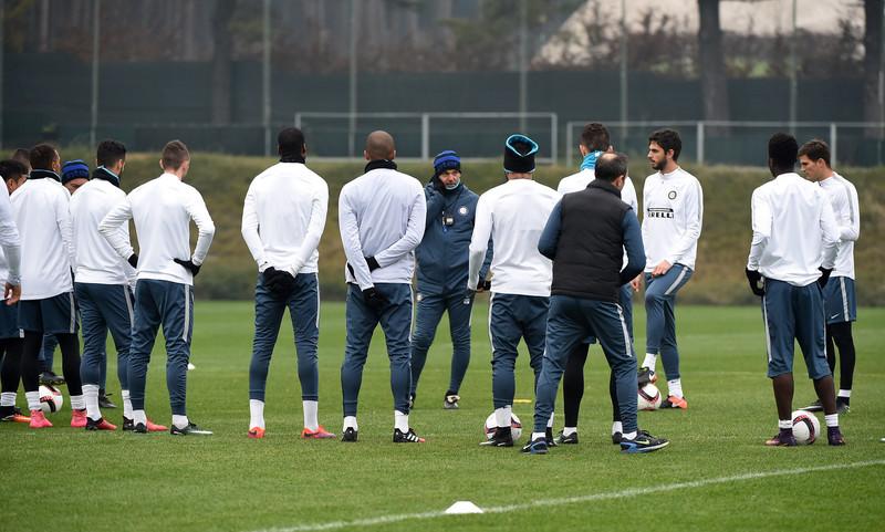 Inter, niente allenamento per Banega e Candreva: il report medico