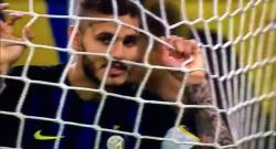 Il clamoroso gol a porta vuota sbagliato da Icardi durante Inter - Sampdoria [VIDEO]