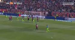 Gol di D'Ambrosio! Crotone-Inter 2-1 [VIDEO]