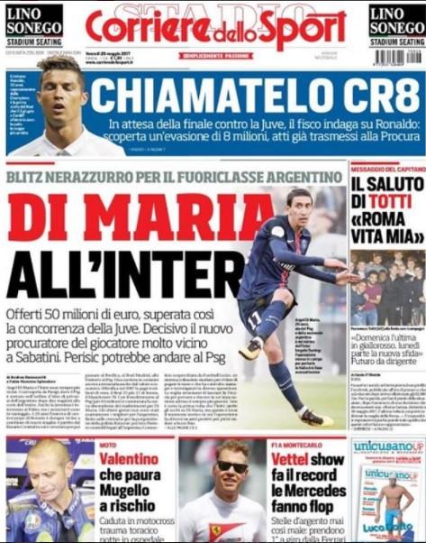 Inter, 42 milioni per James Rodriguez: è l'alternativa a Di Maria