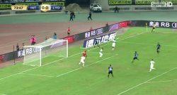 Gol di Jovetic! Grande azione dell'Inter, che passa in vantaggio sul Lione! [VIDEO]