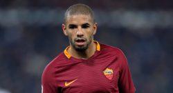 Tegola Roma: Bruno Peres salta l'Inter, stop di 15 giorni. Emergenza terzini per Di Francesco