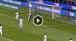 Gol fantastico di Mauro Icardi che raddoppia, che assist di Perisic! Inter 1 Fiorentina 0 [VIDEO]