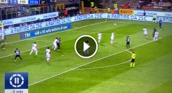 Gol di Ivan Perisic, che giocata di Joao Mario! Inter 3 Fiorentina 0 [VIDEO]