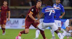 Sampdoria-Roma, partita a rischio rinvio: allerta meteo a Genova, i dettagli