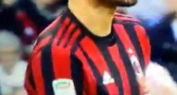 Milan-Roma, lo strano gesto di Bonucci che ha fatto infuriare i tifosi rossoneri [VIDEO]
