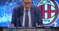Inter 3 Milan 2: Crudeli finisce in lacrime, è incredibile quello che succede in studio! [VIDEO]