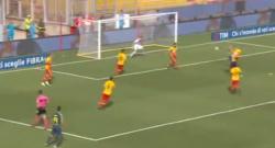 Brozovic di testa! Inter-Benevento 1-0! [VIDEO]