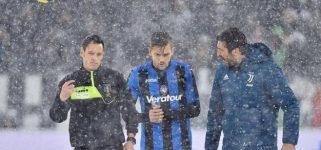 Juventus-Atalanta rinviata. Ecco la possibile data del recupero