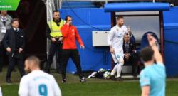 Eibar-Real Madrid: Ramos va in bagno, squadra in 10 per 5 minuti [VIDEO]