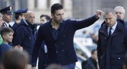 Funerali Astori: presente la Juve, Buffon non riesce a trattenersi e scoppia in lacrime. L'applauso di Firenze [VIDEO]
