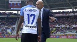 UFFICIALE – Inter contro il Cagliari gioca Karamoh. Cancelo torna dietro: difesa a 4