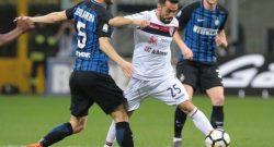 Gagliardini out al 35esimo di Inter-Cagliari: ecco la prima diagnosi