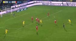 Super gol di Pinamonti alla Fiorentina, che botta da fuori! [VIDEO]