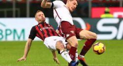Serie A, il Milan non approfitta dello stop dell'Inter: 0-0 col Torino per i rossoneri