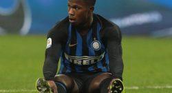 Inter, si infortuna Keita: problema muscolare. Da rivalutare settimana prossima