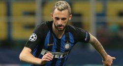 Inter, infortunio per Brozovic: problema di carattere muscolare