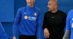 Udinese-Inter, i convocati di Spalletti: 22 giocatori a disposizione, manca solo Vecino