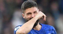 Premier League, il Chelsea sfida l'Arsenal: Giroud neanche in panchina