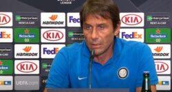 """Conte in conferenza: """"Nella storia rimane solo chi vince. Ultima partita con l'Inter? Io mi godo il momento"""""""